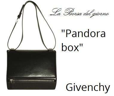 La borsa del Giorno: Pandora Box Givenchy