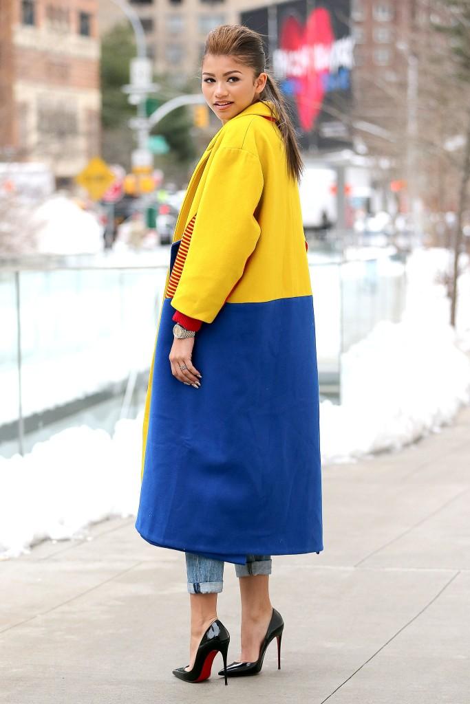 Zendaya shows off her Chic Winter Style