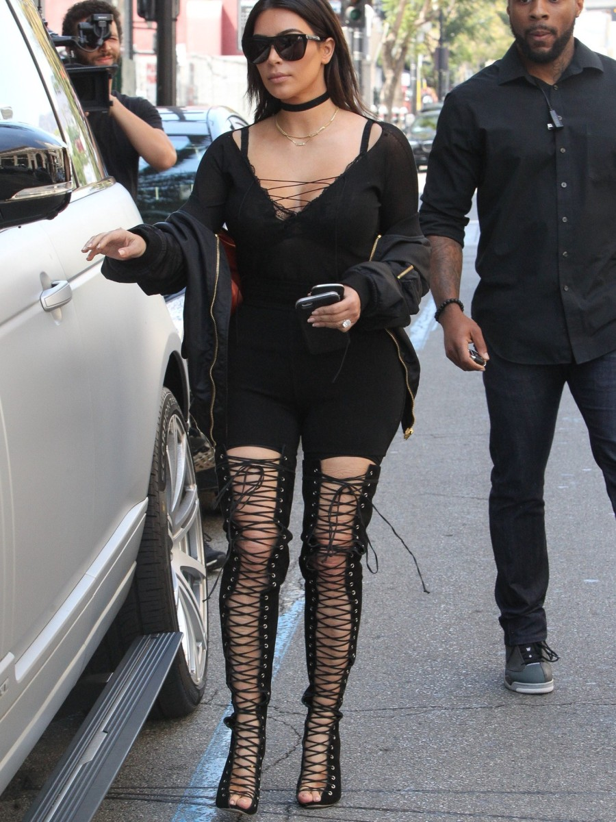 Hot-Or-Hmm-Kim-Kardashian-West-Vetements-Black-Bomber-Jacket-and-Tony-Bianco-Ariette-Coyote-Kid-Suede-Thigh-High-Lace-Up-Boots-3-900x1200.jpg
