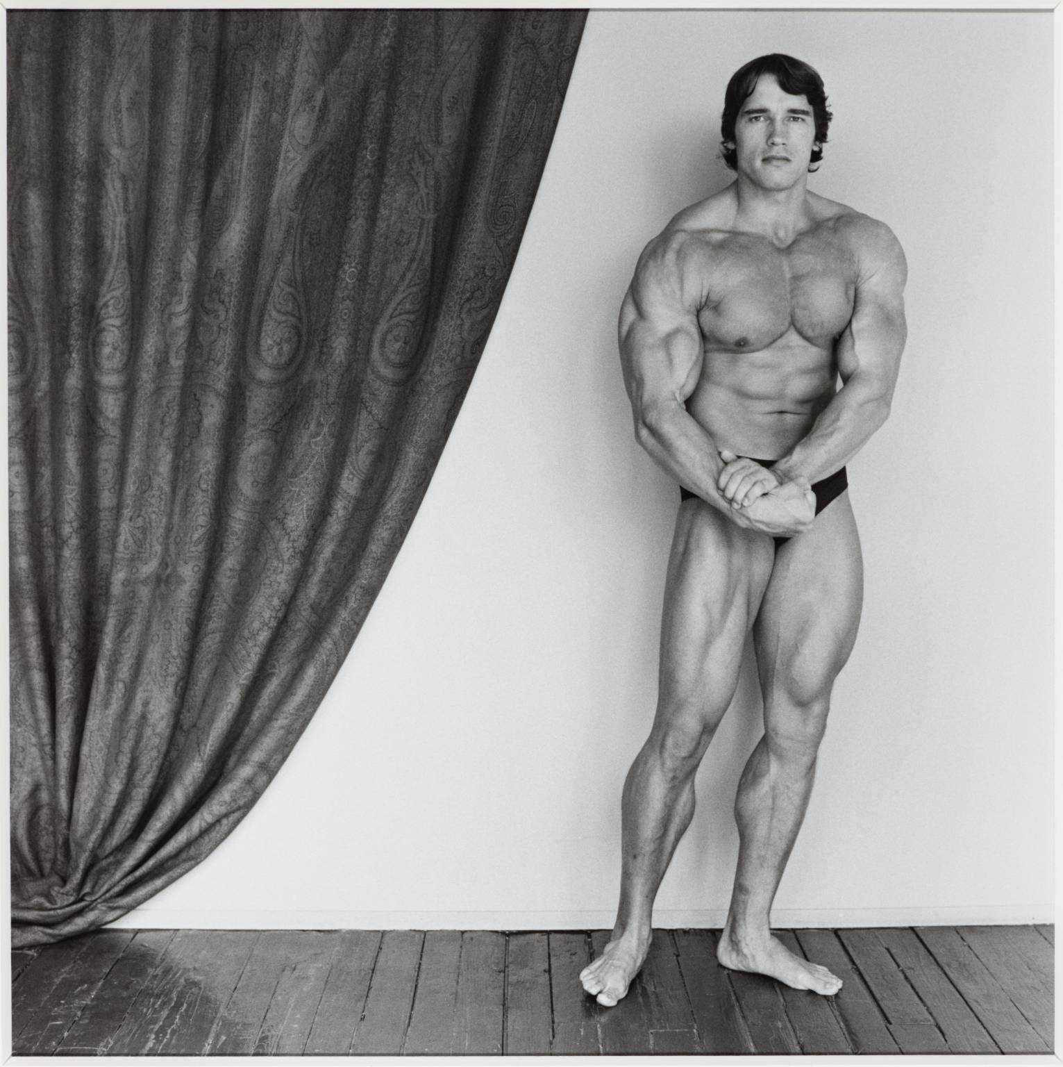 Arnold Schwarzenegger 1976, printed 2005 by Robert Mapplethorpe 1946-1989