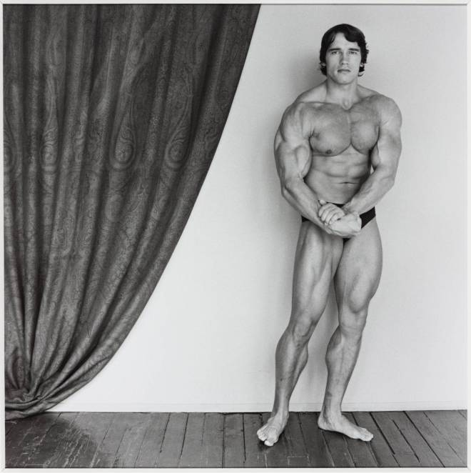 Arnold Schwarzenegger 1976, printed 2005 by Robert Mapplethorpe 1946-1989