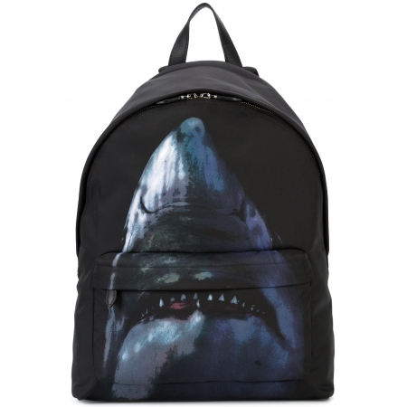 givenchy-shark-print-backpack